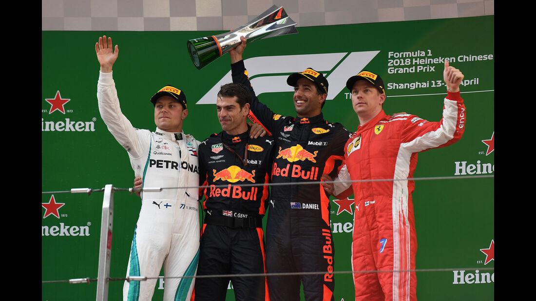 Podium - GP China 2018