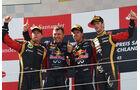 Podium - GP Deutschland 2013