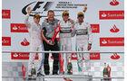 Podium - GP Deutschland 2014