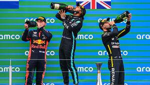 Podium - GP Eifel - Nürburgring - Formel 1 - 2020