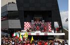Podium GP England 2011 Rennen