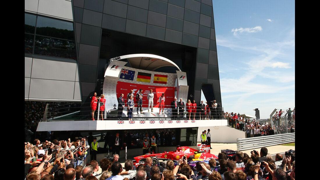 Podium - GP England 2013