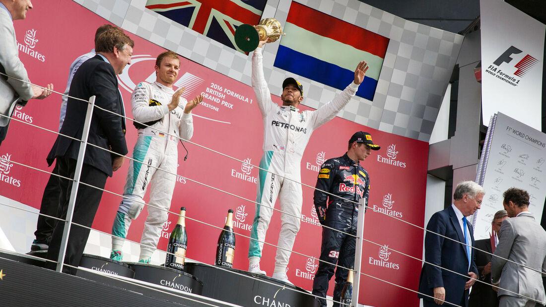 Podium - GP England 2016 - Silverstone