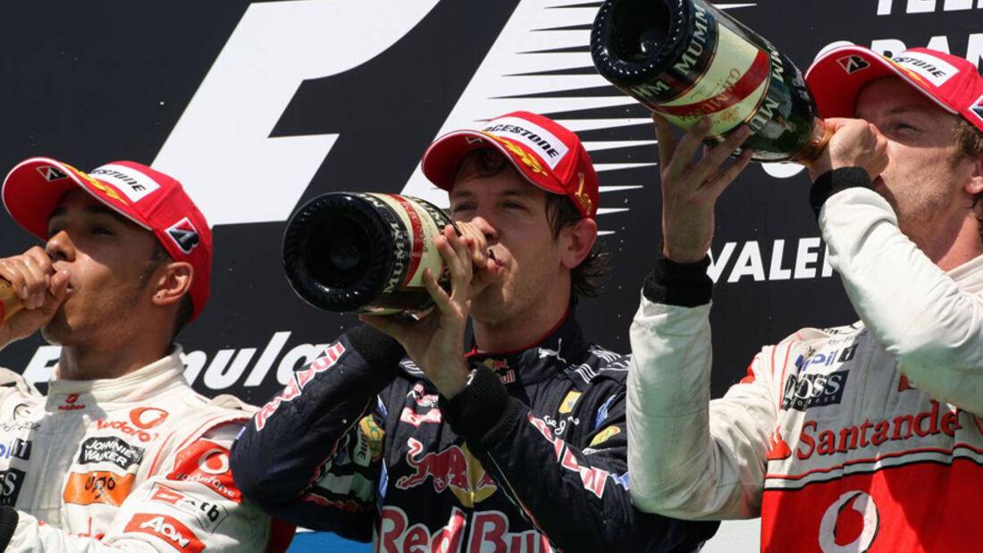 Podium GP Europa 2010