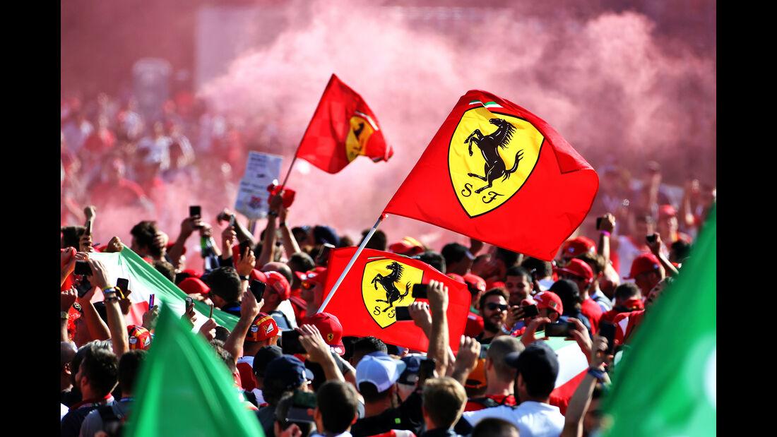 Podium - GP Italien 2019