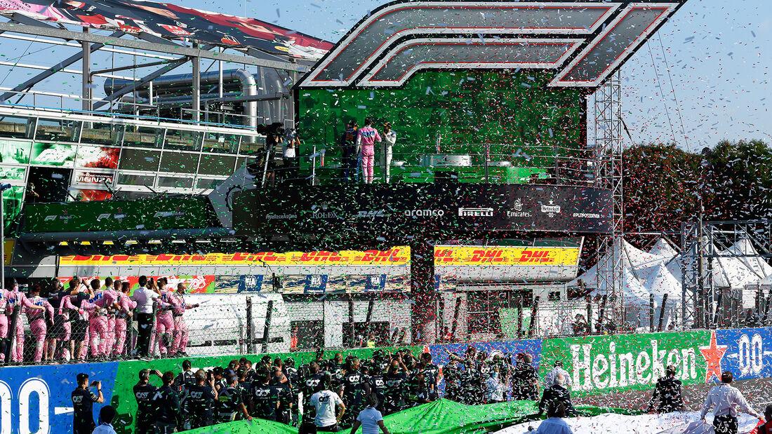 Podium - GP Italien 2020