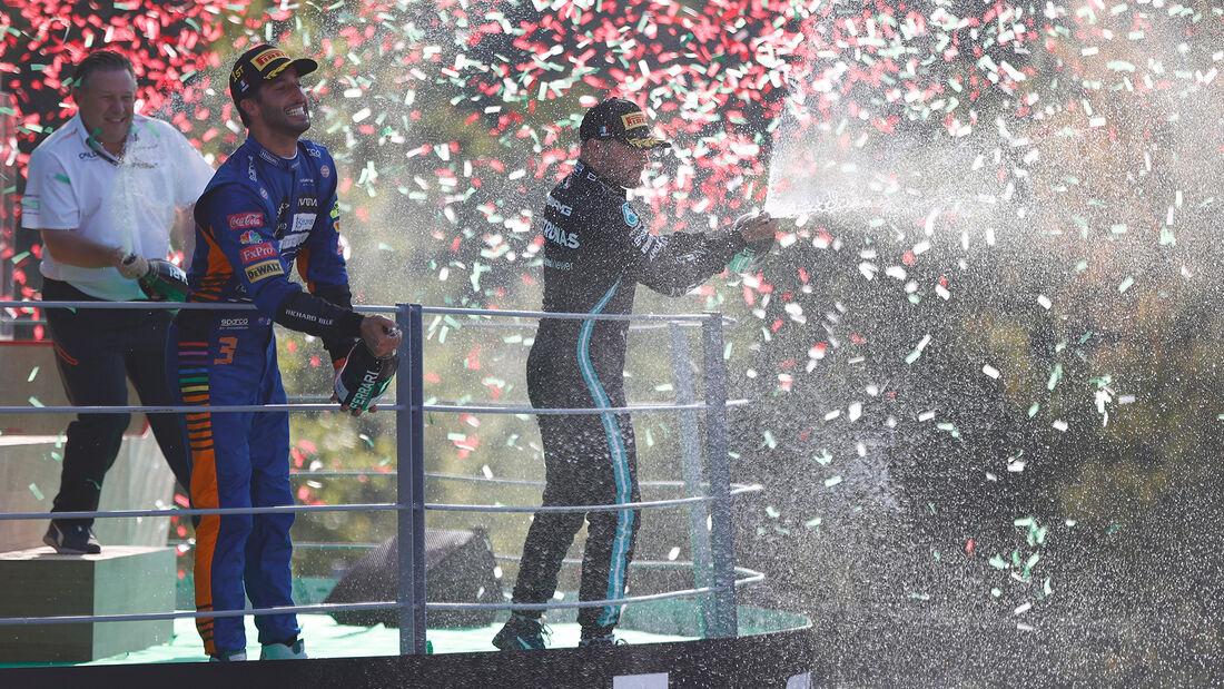 Podium - GP Italien - Monza - 2021
