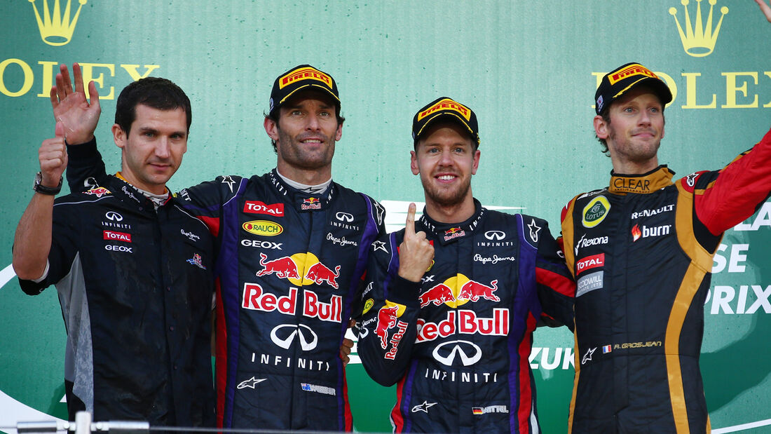 Podium GP Japan 2013