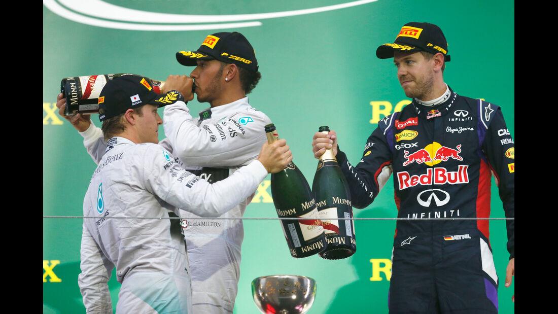 Podium - GP Japan 2014