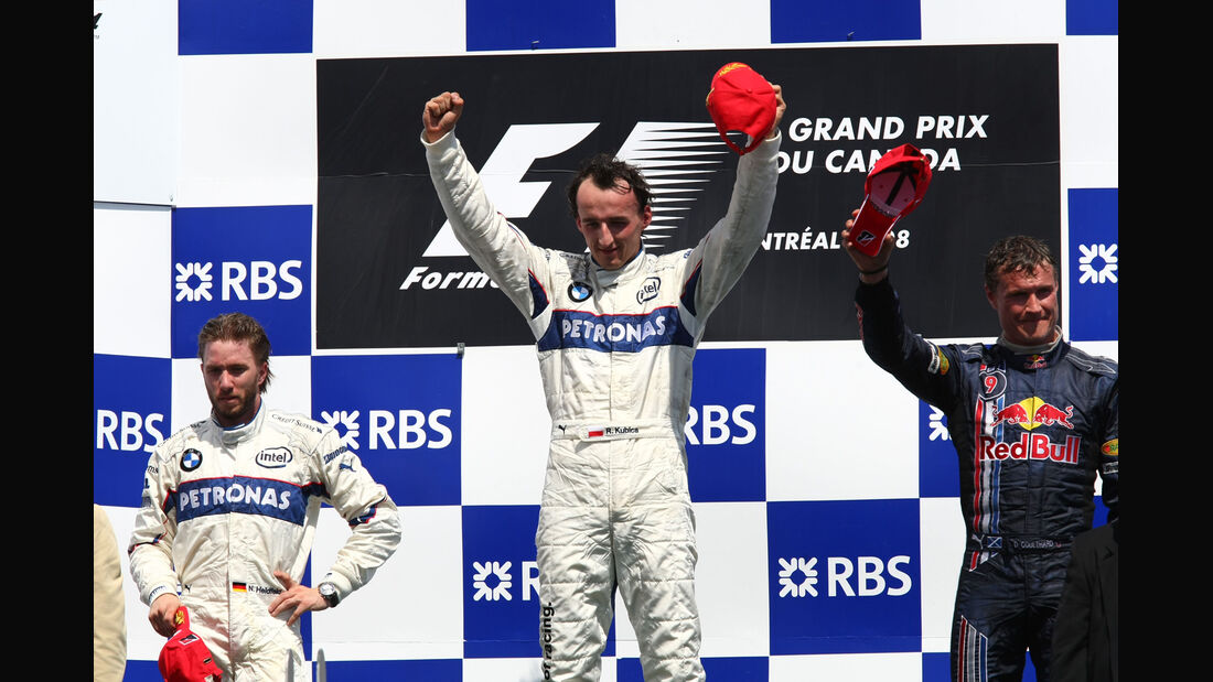 Podium - GP Kanada 2008