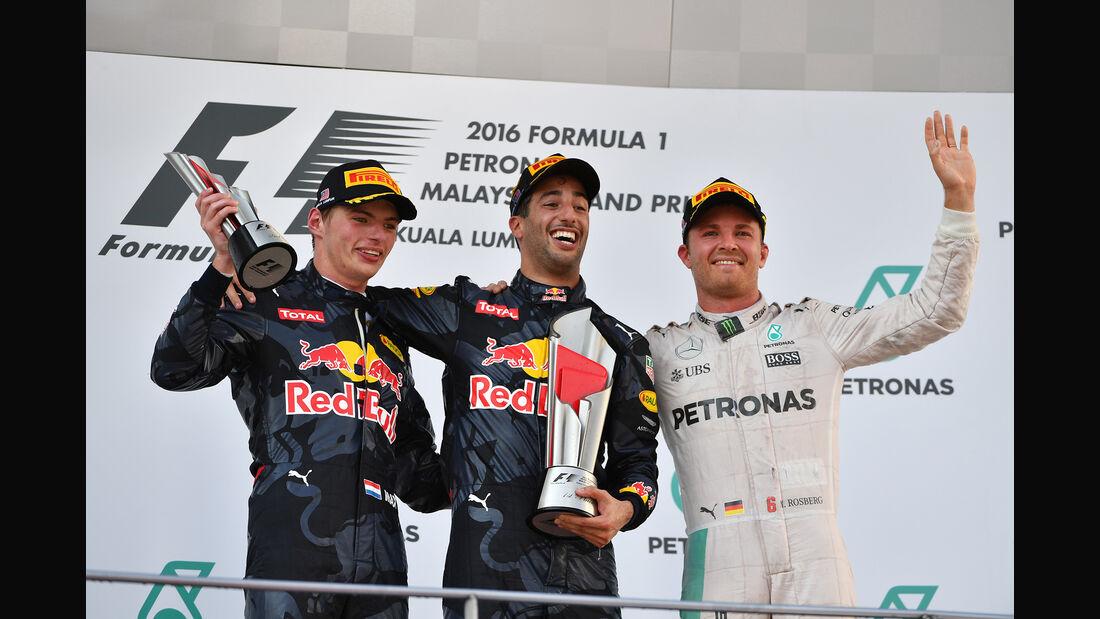 Podium - GP Malaysia 2016