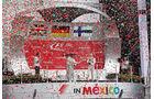 Podium - GP Mexiko 2015