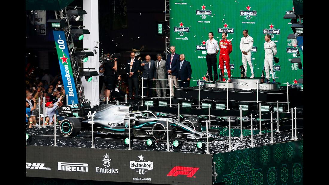 Podium - GP Mexiko 2019