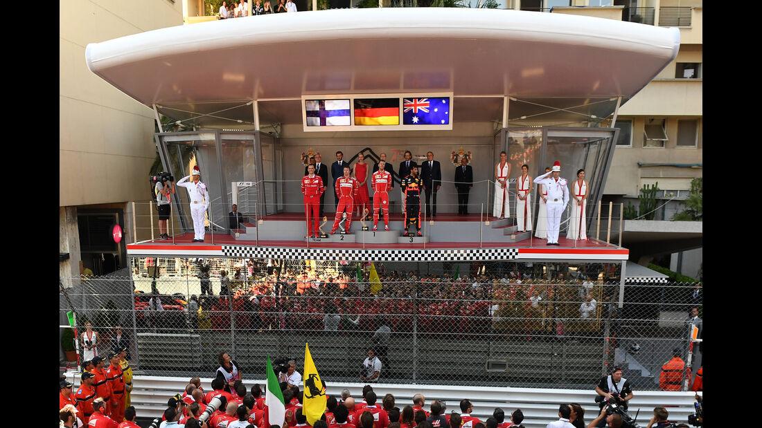 Podium - GP Monaco 2017