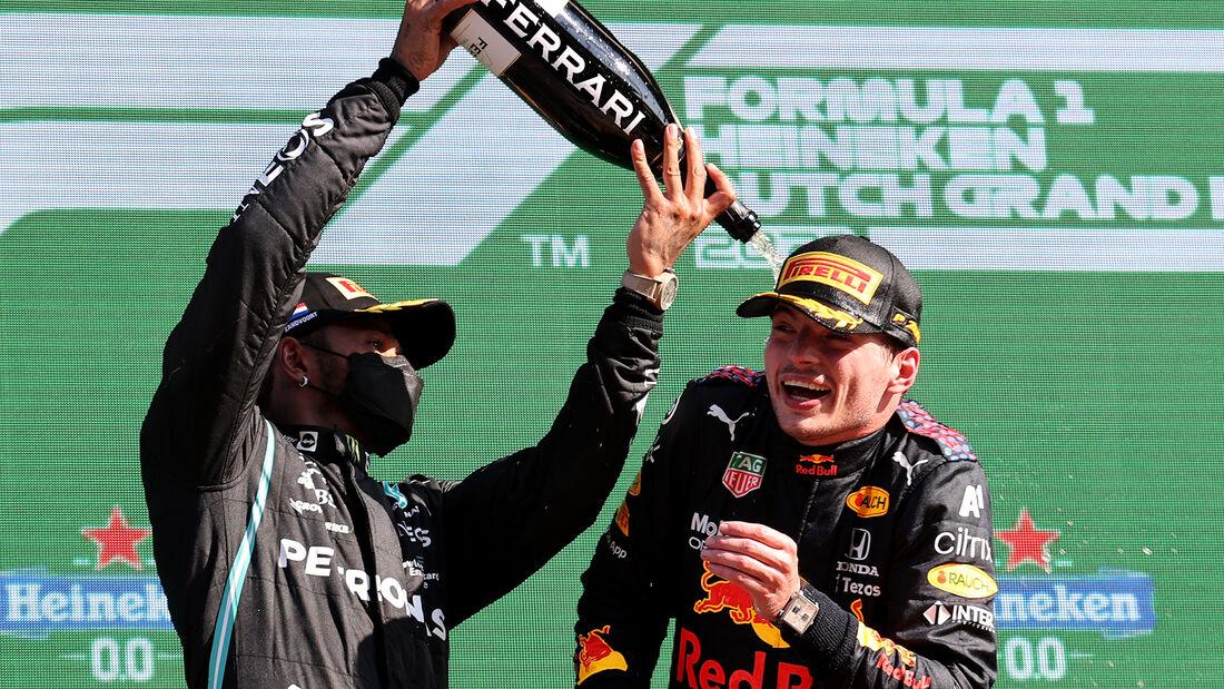 Podium - GP Niederlande - Formel 1 - 5. September 2021