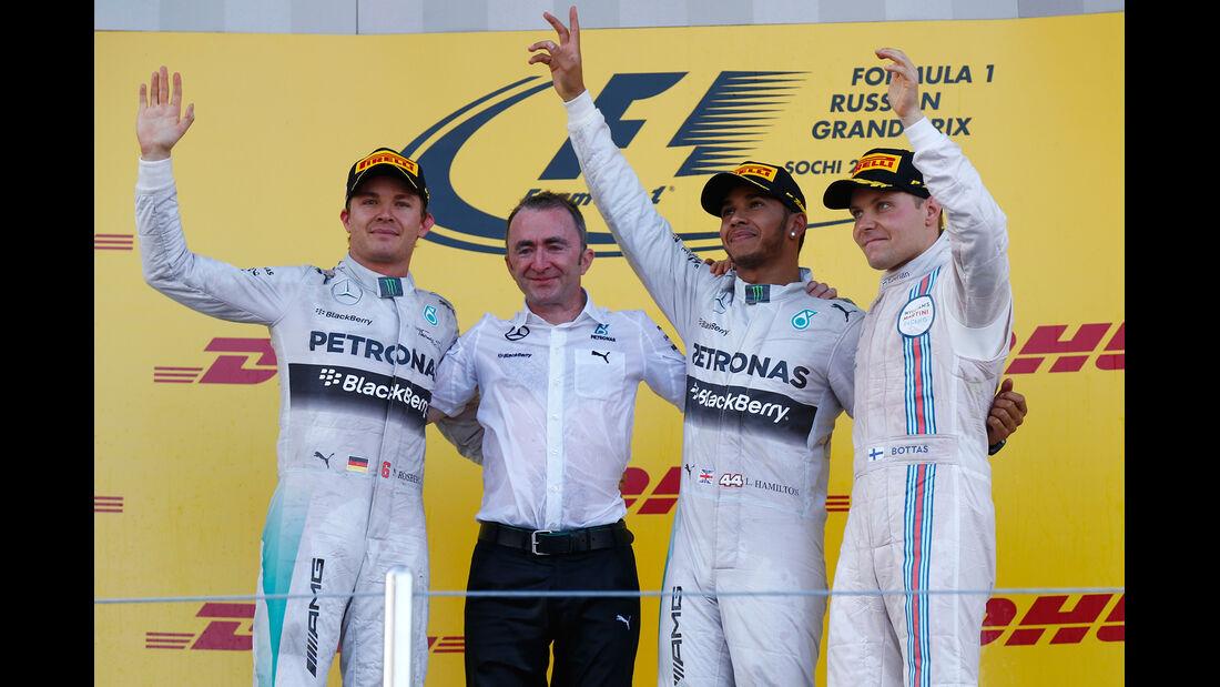Podium - GP Russland 2014