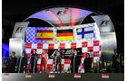 Podium - GP Singapur 2013