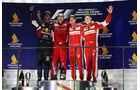 Podium - GP Singapur 2015