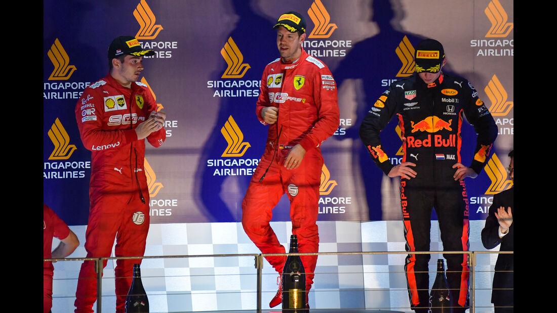 Podium - GP Singapur 2019