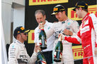 Podium - GP Spanien 2015 - Rennen - Sonntag - 10.5.2015