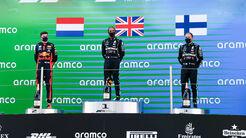 Podium - GP Spanien 2020