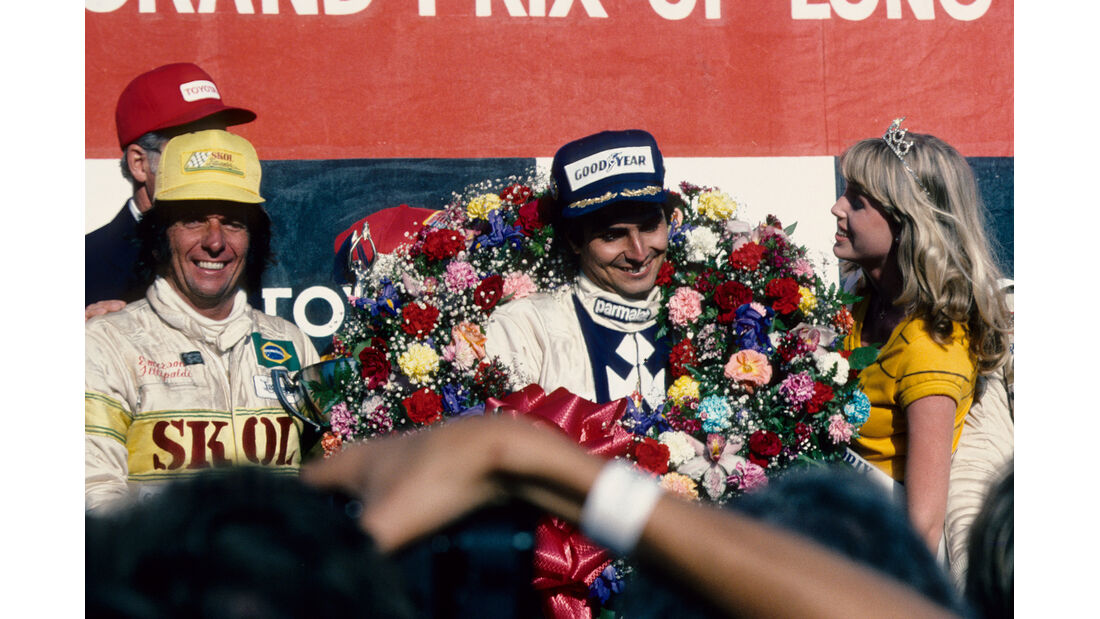 Podium GP USA 1980 Long Beach