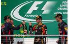 Podium - GP USA 2013