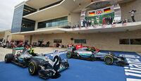 Podium - GP USA 2015
