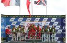 Podium Le Mans GT Pro 2012