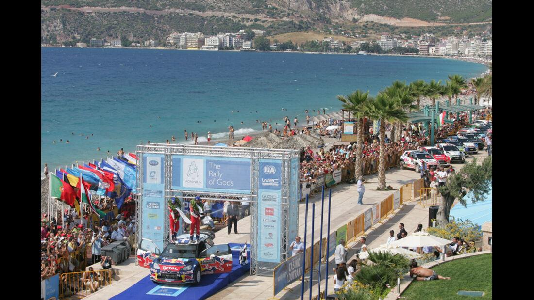 Podium Rallye Griechenland 2011