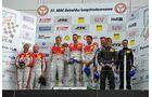 Podium, Siegerehrung, VLN Langstreckenmeisterschaft Nuerburgring 2011, 51. ADAC Reinoldus-Langstreckenrennen