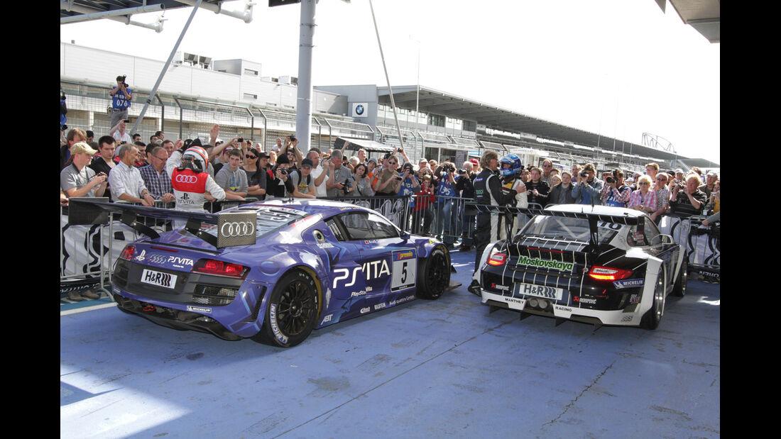 Podium, VLN Langstreckenmeisterschaft Nürburgring 28-4-2012