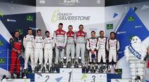 Podium - WEC Silverstone 2016