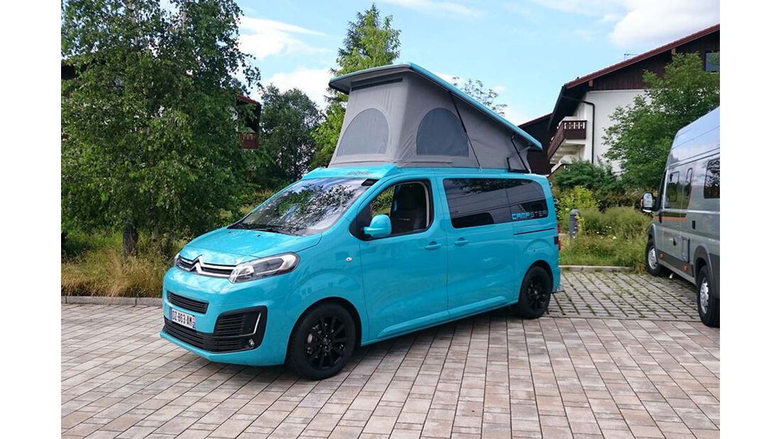Poessl Campster, Caravan Salon 2016