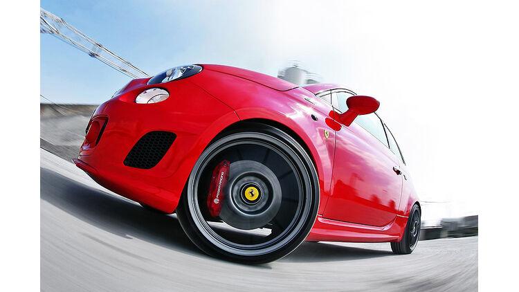 Pogea Racing Fiat 500 Aufgepeppte Ferrari Version Giftiger Kleinwagen Mit 265 Ps Auto Motor Und Sport