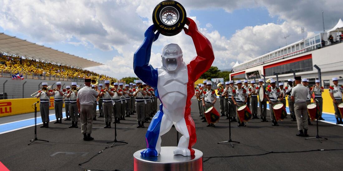 Pokal - GP Frankreich 2018