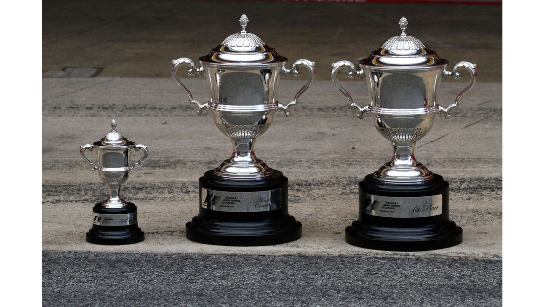Pokale - Formel 1 - GP Spanien 2013