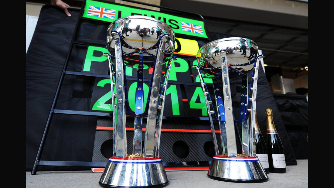 Pokale - Formel 1 - GP USA - 2. November 2014