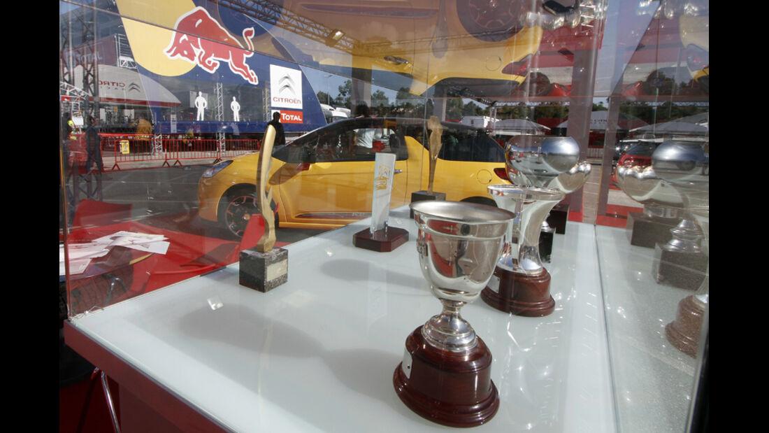 Pokale Rallye Spanien
