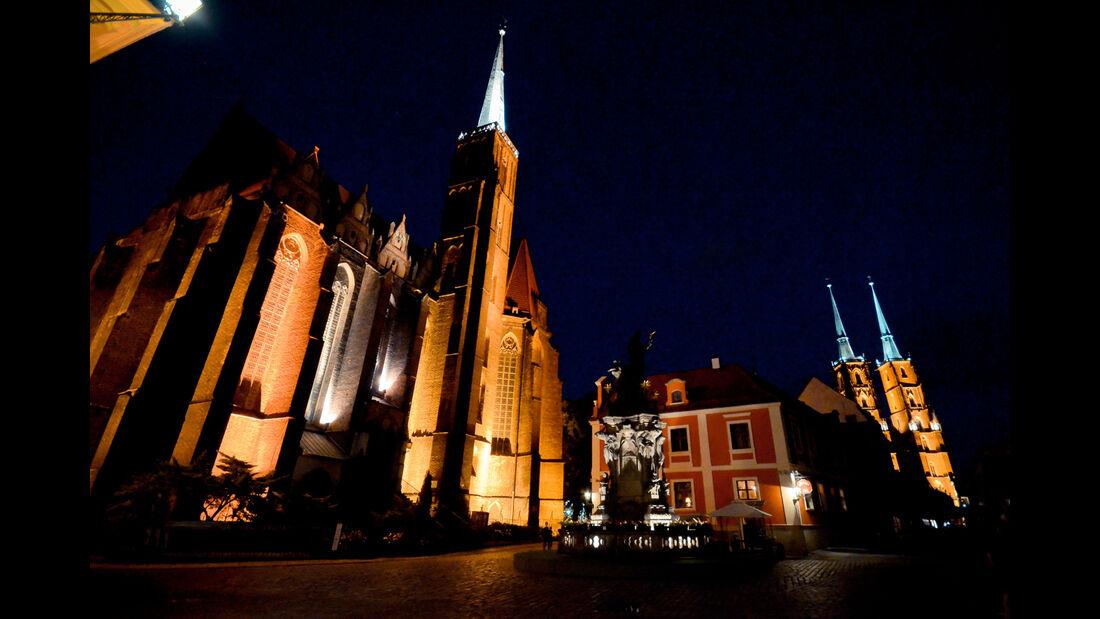 Polen, Kirche, Nacht