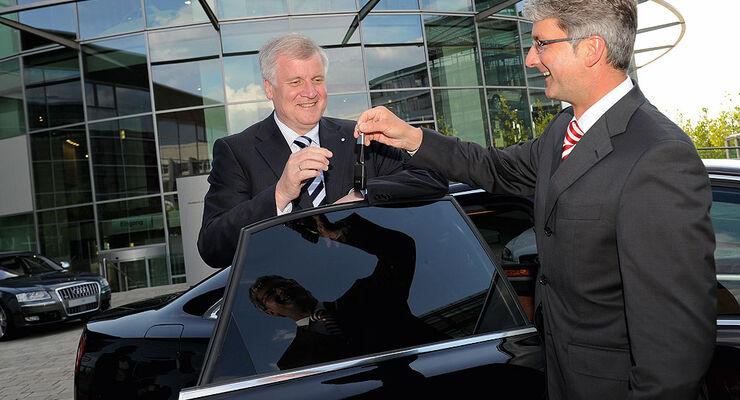 Politiker und ihre Dienstwagen, Seehofer, Audi A8