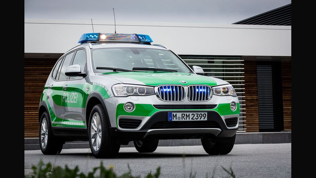 Polizei, BMW X3 xDrive