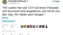 Polizei Berlin #nonotruf