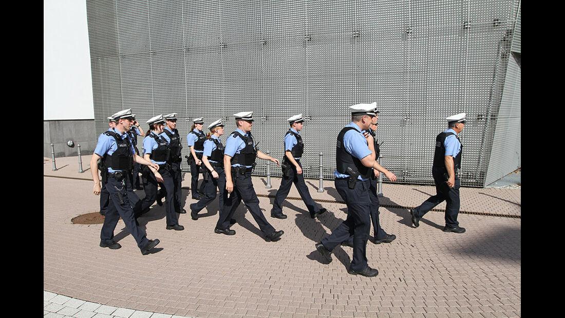 Polizei IAA 2011 Atmosphäre