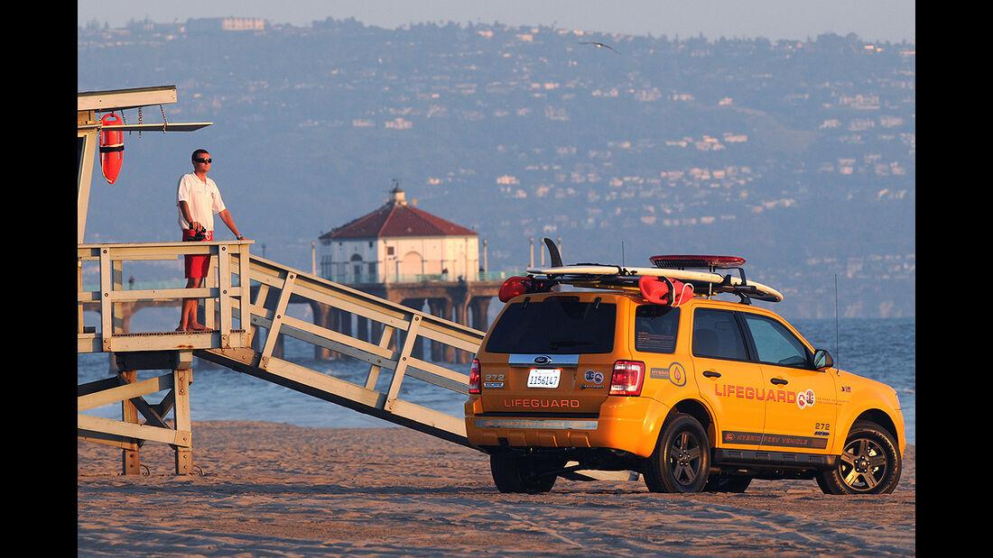 Polizeiauto Ford Escape