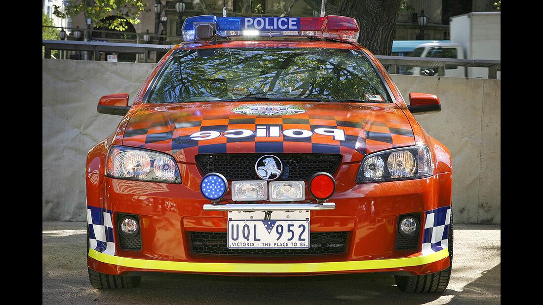 Polizeiauto Holden SS Commodore