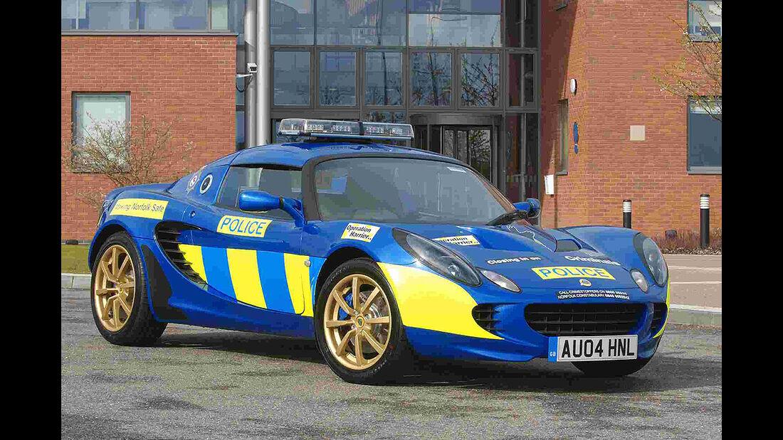 Polizeiauto Lotus Elise