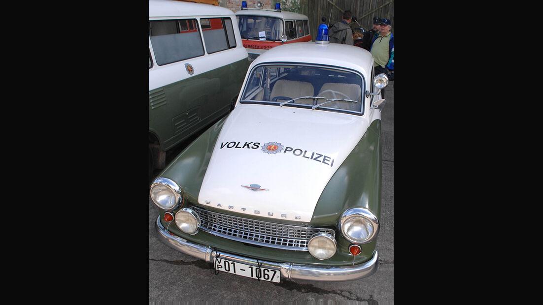 Polizeiauto Wartburg