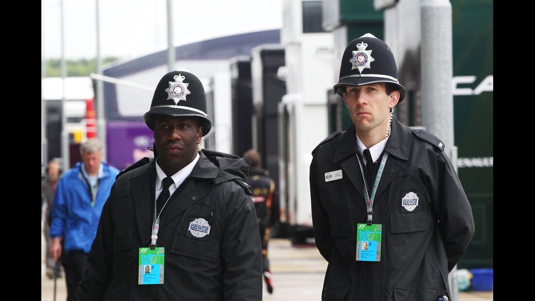 Polizisten - Formel 1 - GP England - Silverstone - 5. Juli 2014