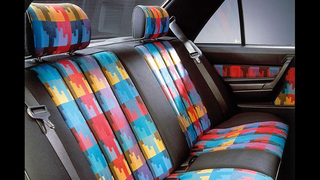 Polsterfarben, Mercedes 190